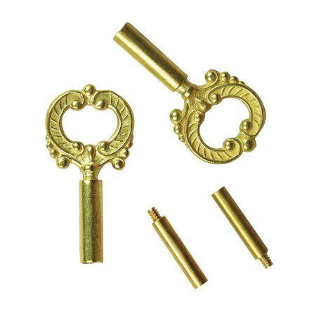 Jandorf Socket Keys 1/2 in. L x 5 in. H Brass 2 pk