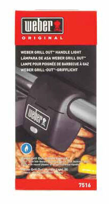Weber LED Grill Handle Light 3 in. H x 4-1/2 in. D x 2 in. W