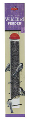 Perky-Pet Wild Bird 1-1/2 lb. Plastic Tube Seed Feeder 8