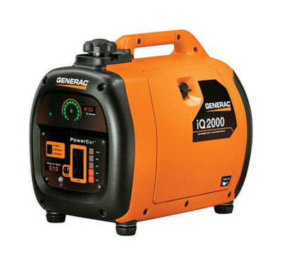 Generac Power Systems 1 600 watts Inverter Generator 7.7 hr.