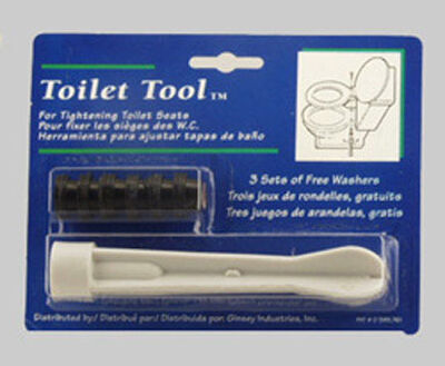 Ginsey Toilet Seat Tool Kit 1-1/2 in. H x 7-3/4 in. L