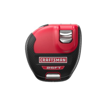 Craftsman Sidewinder 15-1/2 in. W x 25 ft. L Tape Measure ABS Plastic