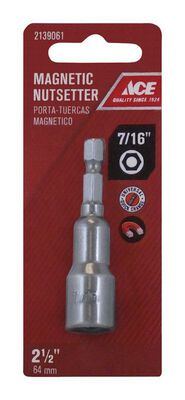 Ace 7/16 in. x 2.5 in. L Magnetic Nutsetter