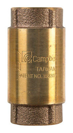 Campbell 3/4 in. FIP X 3/4 in. FIP Red Brass Check Valve