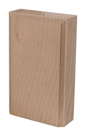 Alexandria Moulding Casing Trim Block Pine 4-1/2 in. H x 2-3/4 in. W x 1 in. D