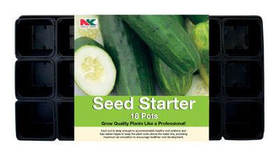 NK Lawn & Garden Seed Starter Tray 18 pc. 3 in.