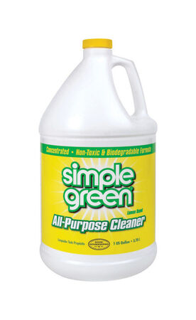 Simple Green Lemon Scent All Purpose Cleaner 1 gal. Liquid For Multi-Surface