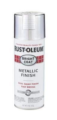 Rust-Oleum Stops Rust Aluminium High Gloss Bright Coat Metallic Spray 11 oz.