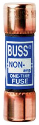 Bussmann One-Time Fuse 15 amps 250 volts 1 pk For General Purpose