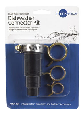 InSinkErator Dishwasher Connector Black