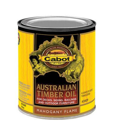 Cabot Transparent Oil-Based Australian Timber Oil Mahogany Flame 1 qt.