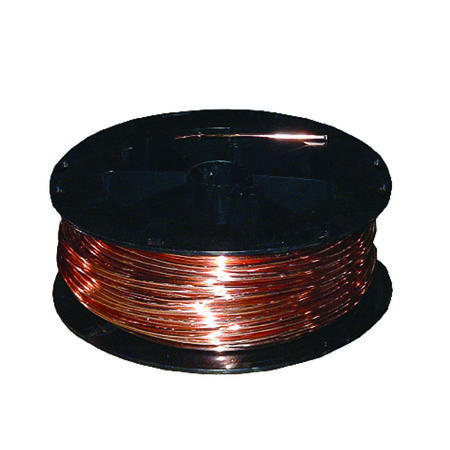 Southwire 200 ft. 4/1 Solid Bare Copper Ground Wire Copper - Sold by the foot