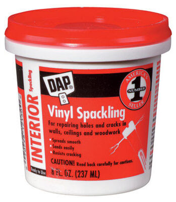 DAP Vinyl Ready to Use Spackling Compound 8 oz.