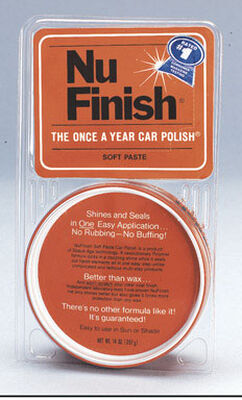 Nu-Finish Paste Automobile Polish 14 oz.