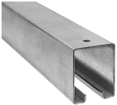 Stanley Steel Box Rail 1-7/8 in. W x 8 L 1