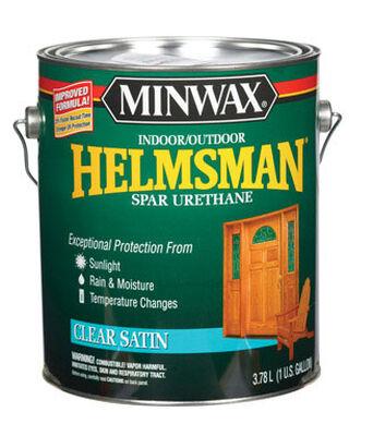 Minwax Helmsman Indoor and Outdoor Clear Satin Spar Urethane 1 gal.