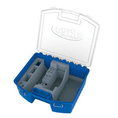 Kreg 6-3/4 in. H x 15-1/4 in. W x 18 in. L Plastic Storage Organizer Blue