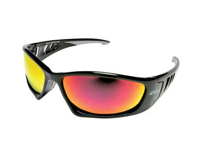 Edge Eyewear Multi-Purpose Safety Glasses Antifog Multicolor Lens Black Frame Bulk