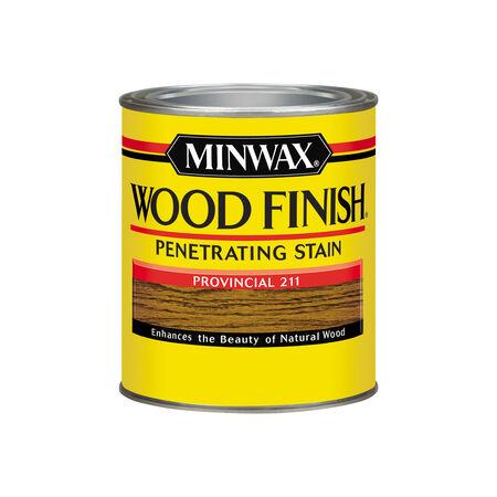 Minwax Wood Finish Semi-Transparent Provincial Oil-Based Wood Stain 1 qt.