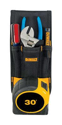Dewalt Tool Holder Heavy Duty 1.25 in. x 5.25 in. x 11.38 in. Black