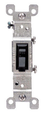 Leviton 15 amps Toggle Switch Single Pole 1
