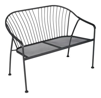 Living Accents Bench 31.89 in. H x 41.14 in. W Black