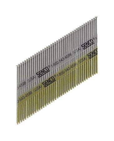Senco 2-1/2 in. L 15 Ga. Galvanized Angled Finish Nails 3 000 box