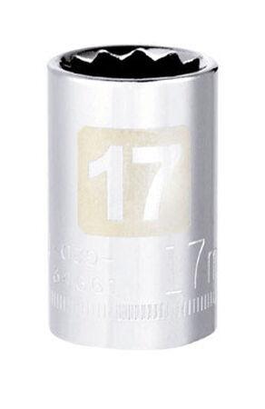 Craftsman 17 Alloy Steel 1/2 in. Drive in. drive Socket Standard