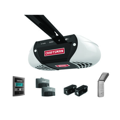 Craftsman WiFi Belt Drive Garage Door Opener 1-1/4 hp