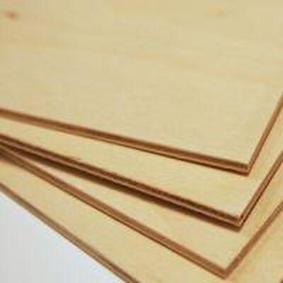 "Plywood A-3 Birch 4' x 8' x 1/4"""