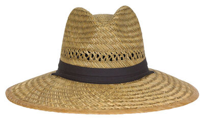 Dorfman Pacific Natural Wide Brim Hat Assorted Sizes Straw