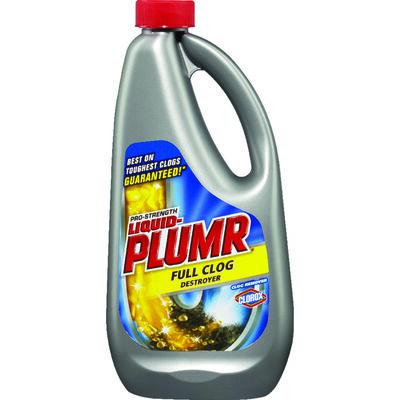 Liquid-Plumr Full Clog Destroyer Clog Remover Liquid 32 oz.