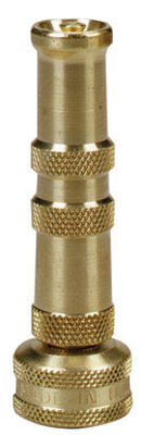 Ace Adjustable Hose Nozzle Solid Brass