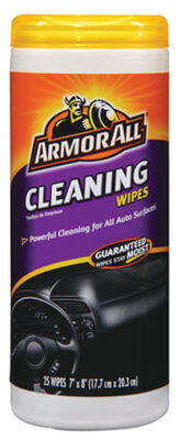 Armor All Vinyl Leather and Rubber Cleaner 25 wipes