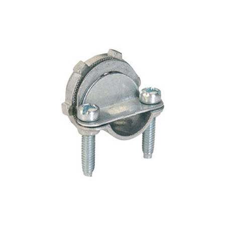 Sigma 3/8 - 1/2 in. Dia. Zinc Electrical Combination Connector