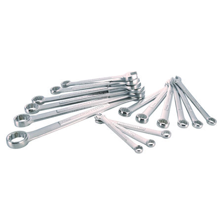 Craftsman 12 Point Metric Combination Wrench Set Box End/Open End 15 pc.