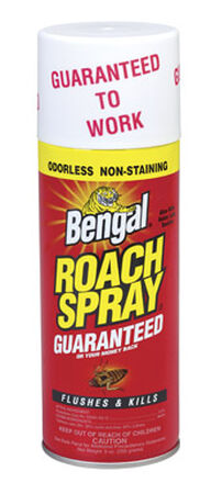 Bengal Roach Spray II Insect Killer For Raoches 9 oz.