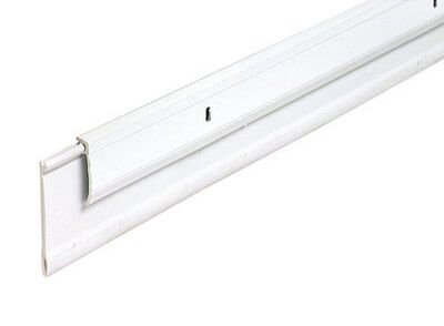M-D Building Products Door Bottom Aluminum Door Sweep 36 in. L x 3/4 in. White