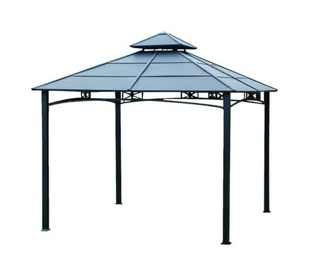 Living Accents Hardtop Gazebo 119.29 in. H x 10 ft. W x 10 ft. L