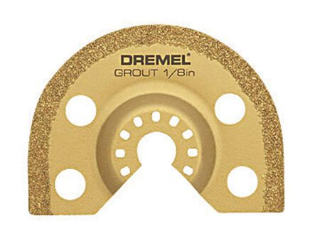 Dremel Multi-Max Steel Grout Removal Blade 1/8 in. 1 pk