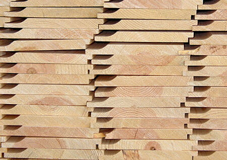 "Pine Siding D - Grade #105 1"" x 8"" x 8'"