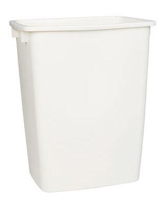 Rubbermaid 36 Bisque Rectangular Wastebasket