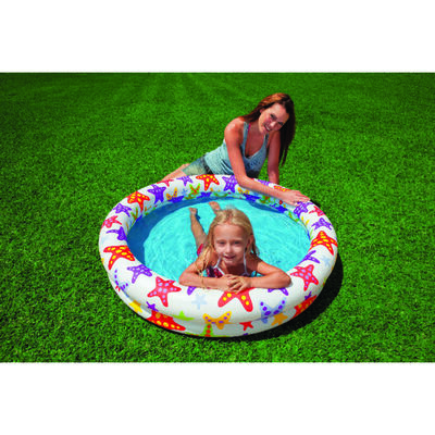 Intex Inflatable Pool 35 gal. 10 in. H x 48 in. L x 48 in. W