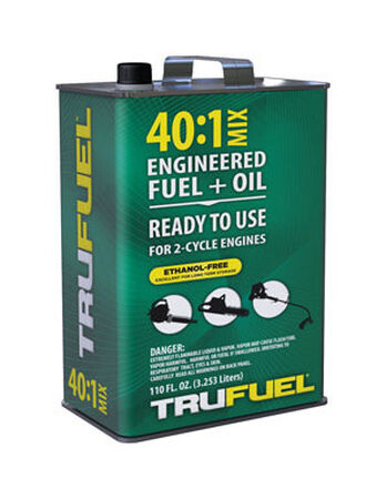 TruFuel 2 Cycle Engine Premixed Gas and Oil 110 oz.