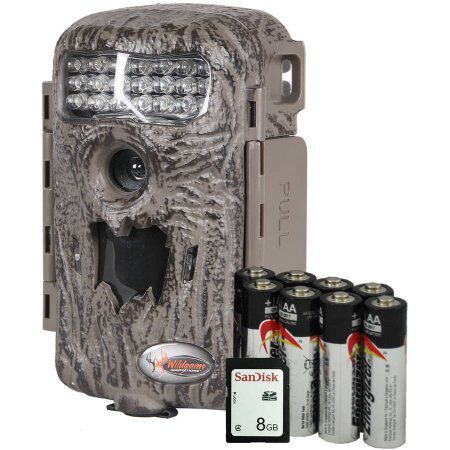 Wildgame Game Camera Illusion - 8Mp Infrared With Sd Card/8-Aa Batteries
