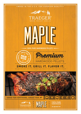 Traeger Maple Hardwood Pellets 20 lb.