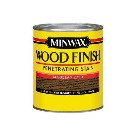 Minwax Wood Finish Semi-Transparent Jacobean Oil-Based Oil Stain 1 qt.
