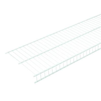 Rubbermaid 8 ft. L x 96 in. H x 12 in. W Linen Shelf White