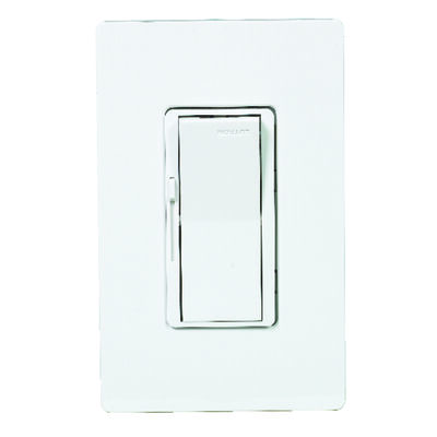 Lutron Diva 5 amps 600 watts Three-Way Dimmer Switch White