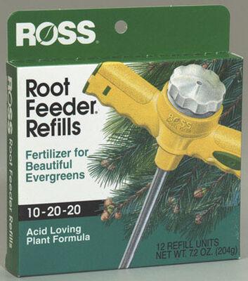 Ross Root Feeder Refills Fertilizer For Evergreens Acid Loving Plants 12 pk